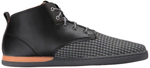 Creative Recreation Vito Toile Baskets Black Grey Orange