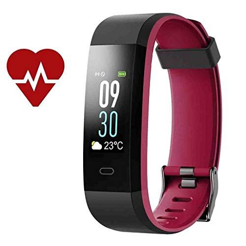 Alan Blutdruckmessgerät Blutdruck Smart Armband Big Screen Pulsoximeter Übung Messung Zähler Schlafüberwachung Wasserdichte Bluetooth Wasserdichte Uhr