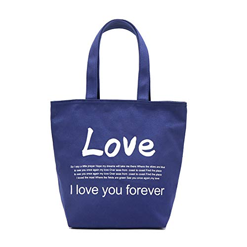 XZDCDJ Handtasche Damen UmhängeTaschen Daypacks Mode Leichte Schultertasche Henkeltaschen Papierhandtasche Klassische Farbe Wasserdicht Blau -