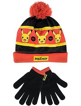 Pokemon - Set di cappelli e guanti del ragazzi - Pokemon