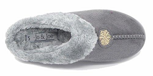 Jo & JoSnuggle - Ciabatte donna Grey