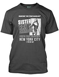Bathroom Wall Velvet Underground Inspired Sister Ray, Men's T-Shirt