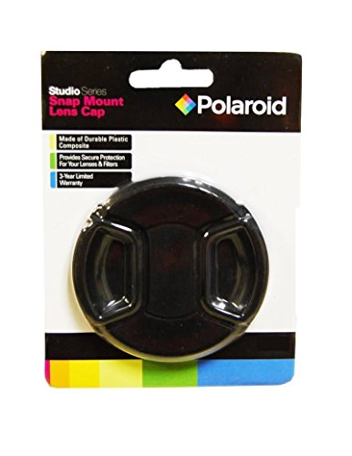 Polaroid Studio Serie Schnappverbindungsobjektivkappe für die Pentax X-5, K-01, K-30, K-X, K-7, K-5, K-5 II, K-R, 645D, K20D, K200D, K2000, K10D, K2000, K1000, K100D Super, K110D, *ist D, *ist DL, *ist DS, *ist DS2 Digitale SLR Kameras Which Has Any Of These (18-55mm, 50-200mm) Pentax Lenses Pentax K10d Digitale Slr