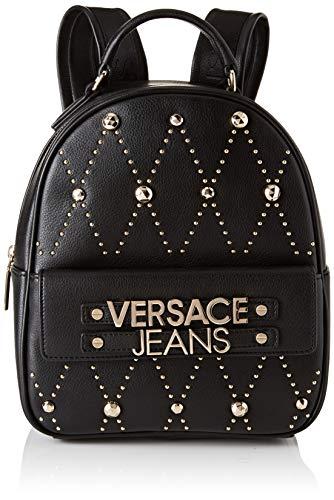 Versace Jeans Bag, Borsa a zainetto Donna, (Nero), 10,5x26x21 cm (W x H x L)