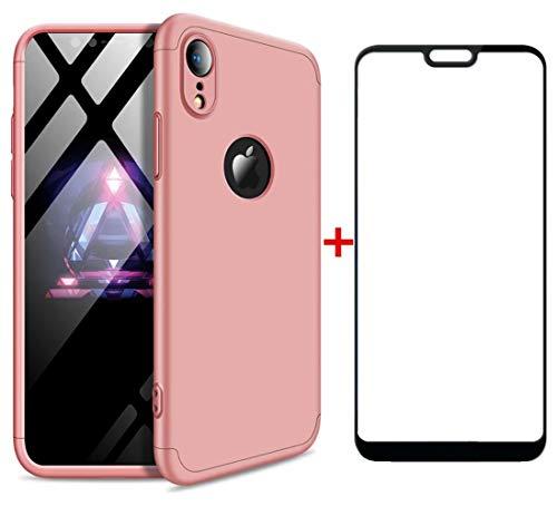 AILZH Funda iPhone XR Cubierta 360 Grados Caja protección