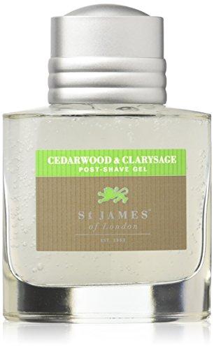 St James of London Cedarwood & Clarysage Post-shave Gel, 100 ml