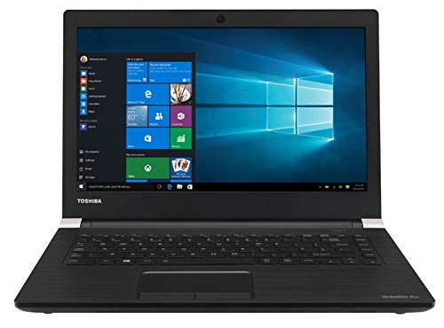 Toshiba PS461E-0MS06FGR 35,56 cm (14 Zoll) A40-C-1D8 Laptop (Intel Core i5, 8GB RAM, Win 10) Schwarz