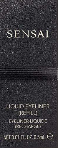 Sensai Augen femme/woman, Liquid Eyeliner Refill Nr. 01 Black (1 Stck), 1er Pack (1 x 1 Stck) - 3