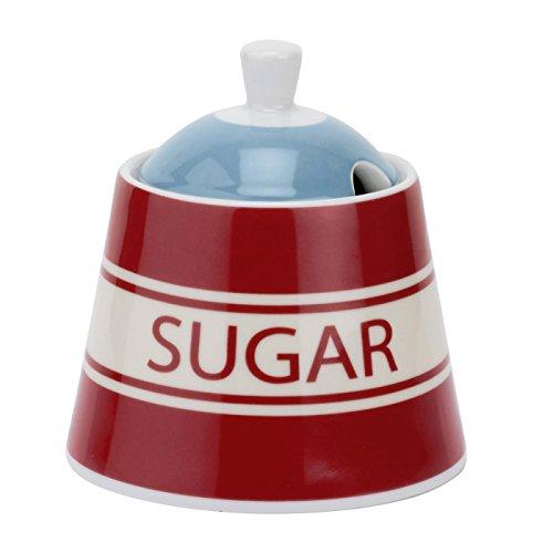 Vintage Kellogg's Sunrise Sugar Bowl, Multi-Colour for sale  Delivered anywhere in UK