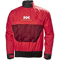 Helly Hansen HP Smock Top Chaqueta Deportiva, Hombre, Rojo (Rojo 222), Large (Tamaño del Fabricante:L)