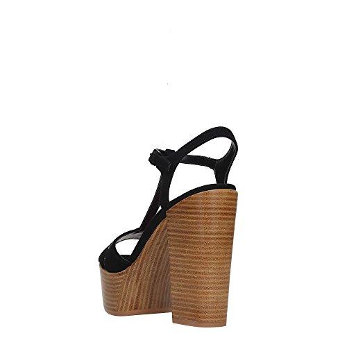 Fornarina PE17KY1012S0 Sandalo Donna Nero