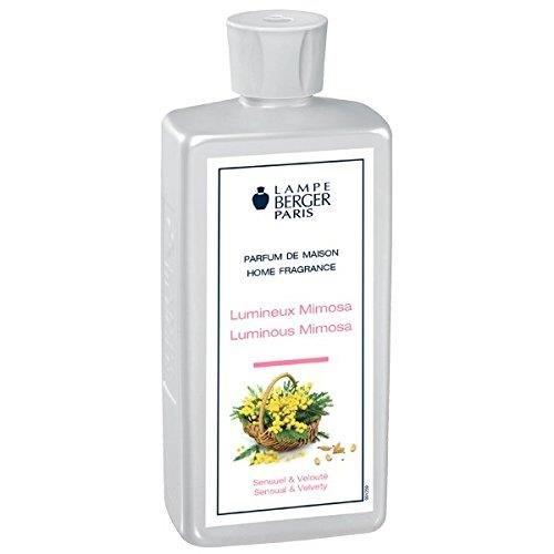 Lampe Berger Lumineux–Mimosa Ambientador, plástico, Transparente, 7.5x 4.5x 19cm, 1Unidades