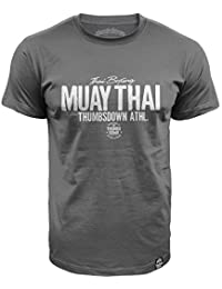 Muay Thai T-shirt. Thai Boxing. Thumbsdown Athl. Proud and Glory. MMA T-shirt
