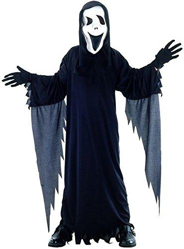 8375–Kostüm Meerestier, phantom mit Maske–Größe S–Schwarz (Unbekannten Phantom Kostüme)