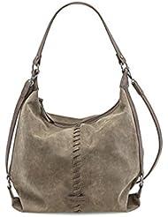 Tamaris Damen Lyra Hobo Bag Schultertaschen, 35x34x12 cm