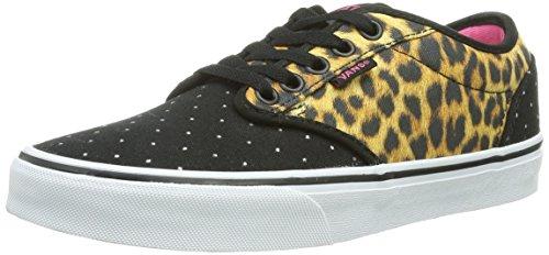 Vans W ATWOOD Damen Sneakers Schwarz ((Cheetah) Black / DG6)