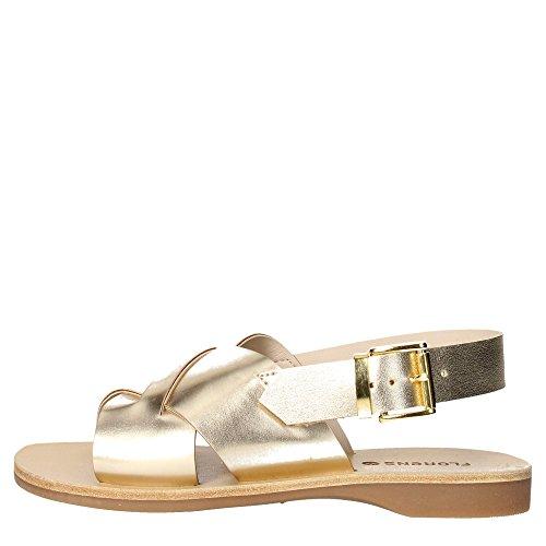 Florens Z7888 Sandale Fille Or
