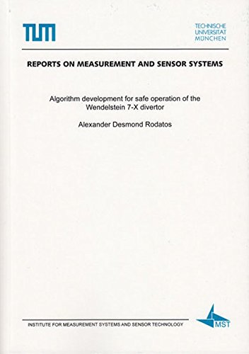 Algorithm development for safe operation of the Wendelstein 7-X divertor (Reports on Measurement and Sensor Systems)