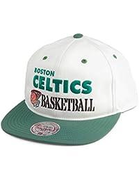 7d7d8c43aa6d4 Mitchell   Ness Gorra Snapback Dunk Boston Celtics Blanco Roto-Verde