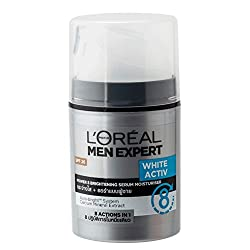 LOreal Paris Men Expert White Activ Whitening Moisturing Fluid, 50 ml