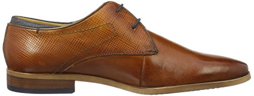 Bugatti 311233011100, Derby Homme Marron (Cognac 6300)