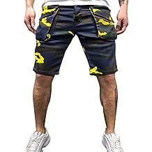 652dc17ac2 Amazon.es  Pantalones Camuflaje - Amarillo