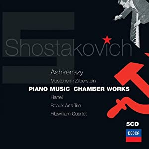 Shostakovich: Piano Music & Chamber Works, Piano Sonata 1, 2, Cello Sonata, 24 Preludes etc by Decca