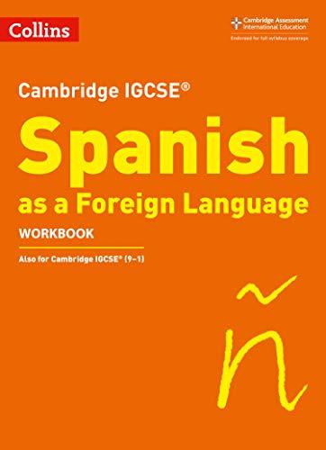 Cambridge IGCSE™ Spanish Workbook (Collins Cambridge IGCSE™) (Collins Cambridge IGCSE (TM)) por Charonne Prosser