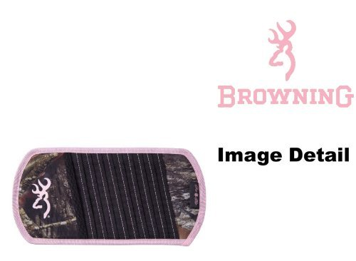 Browning Arms Company Pink Buckmark Logo Infinity Camo Car Truck SUV 10 CD/DVD Discs Car Visor Organizer by Browning