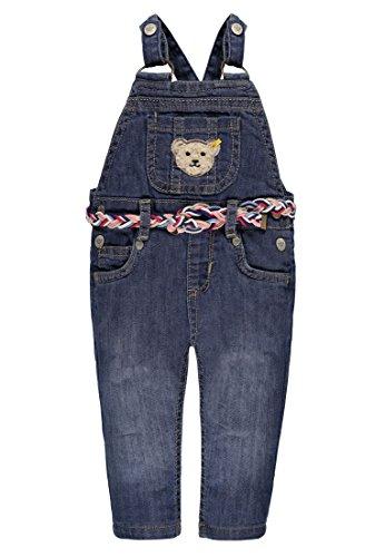 Steiff Baby-Mädchen Hose Latzhose Jeans 6713102, Blau (Light Blue Denim 0014), 86