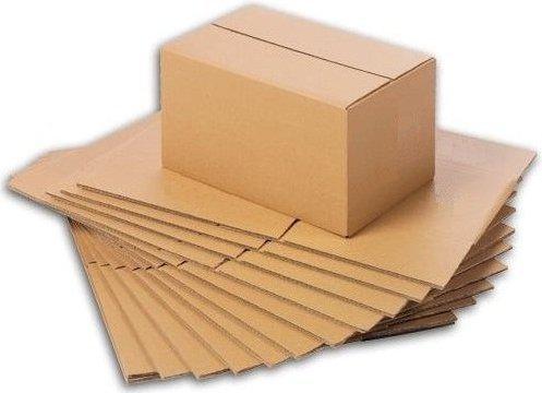 Ingbertson 50x Versandkartons 190 x 110 x 85 mm Faltkartons Post Kartons Päckchen Pakete Faltschachteln Pappkartons
