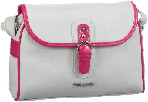 Tamaris Serena Crossover Bag A-1-110-55-301, Damen Umhängetaschen 22x15x8 cm (B x H x T) Weiß (offwhite comb 199)