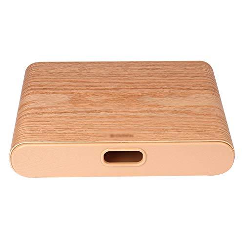 THOR-YAN Laptopständer aus Holz, tragbarer, Leichter, Verstellbarer, ergonomischer Trayhalter für MacBook (dunkel, hell) (Farbe : L)
