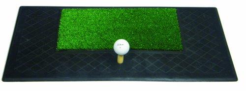 Longridge PAPM - Alfombrilla de práctica pesada chip y drive de golf