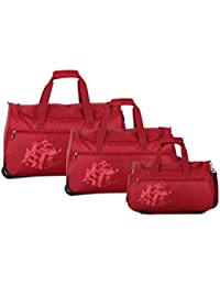 Nasher Miles Flander (49, 56 & 61 Cm) Polyester Soft-Sided Duffle Bag Set Of 3 (Small, Medium & Large)