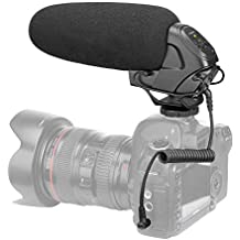 ZIHENGUO BY-BM3031 Micrófono de Video de Condensador, micrófono de entrevista con Escopeta en