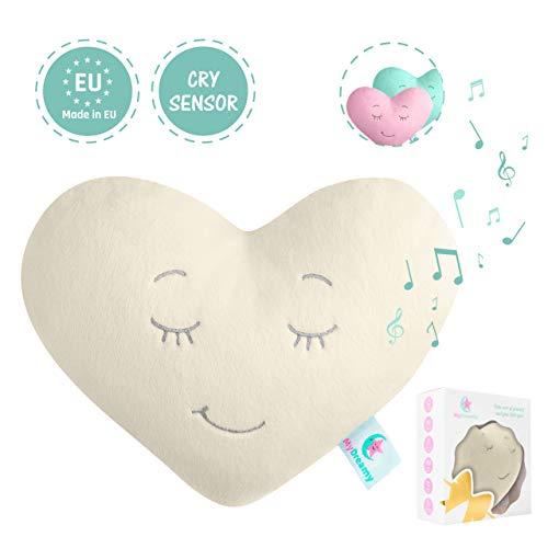 MyDreamy,hummy avec capteur de sommeil peluche pour bébés,enfants,nouveau-nés|5 différentes sons...