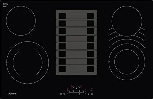 Neff TPD183AX / TPD183AX / Elektro-Kochstelle mit Abzug Kochfeld / Elektro / Einbau / 4 Heizelemente / 79,2 cm / CombiZone