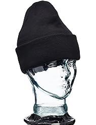 Blackrock 7020600 - Los Hombres De Thinsulate Gorro De Lana - Negro, Un Tamaño