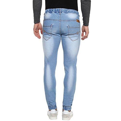 639922362cd ... Urbano Fashion Men s Light Blue Slim Fit Stretchable Jogger Jeans  (jog-iceblue-32 ...