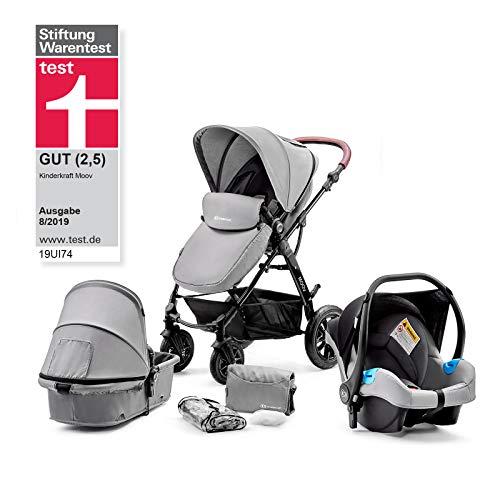 Kinderkraft Moov 3en1 - Silla de paseo de bebe