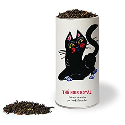 Thé noir royal - Thé noir du matin à la vanille (English breakfast tea).