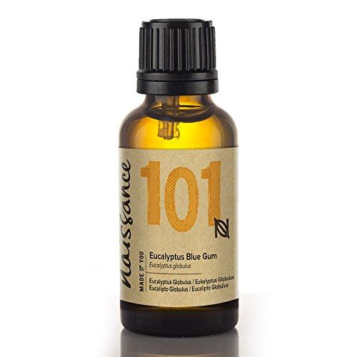 Naissance Olio di Eucalipto Globulus 30ml - Olio Essenziale Puro al 100%, Vegano, senza OGM