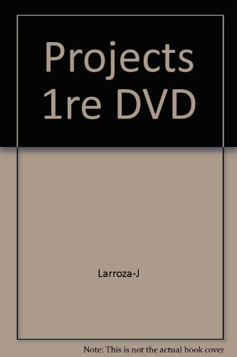 Projects 1re DVD