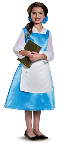 Disguise Belle Blue Dress Tween Disney Princess Beauty & The Beast Costume, X-Large/14-16 by Disguise