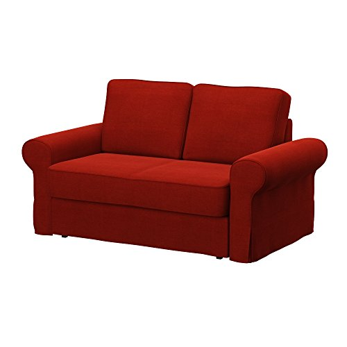 Soferia - IKEA BACKABRO Funda para sofá Cama de 2 plazas, Elegance...