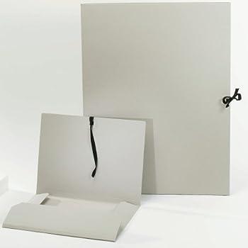 Zeichenmappe KRAFT schwarz in 52x72 cm