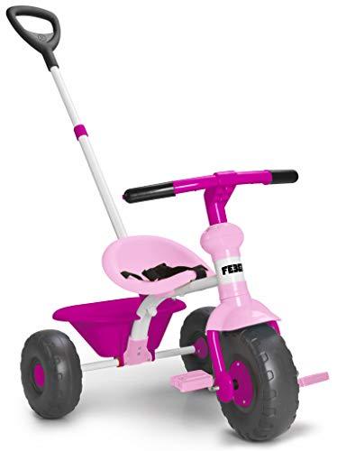 FEBER- Baby Trike Triciclo, Colore Rosa, 800012140