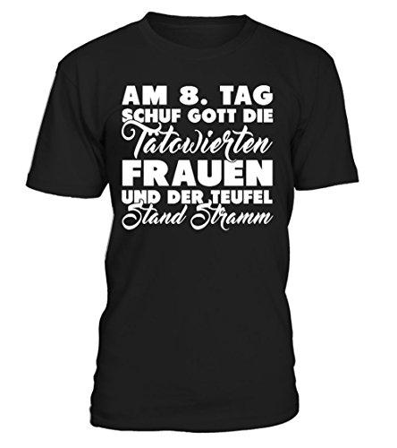 8. Tag Schuf Gott Den T-shirts (Am 8. Tag Schuf Gott Die Tatowierten. T-Shirt Unisex)