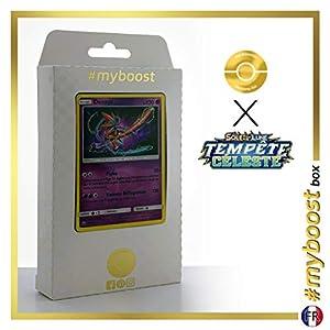 Deoxys 67/168 Holo - #myboost X Soleil & Lune 7 Tempête Céleste - Box de 10 Cartas Pokémon Francés
